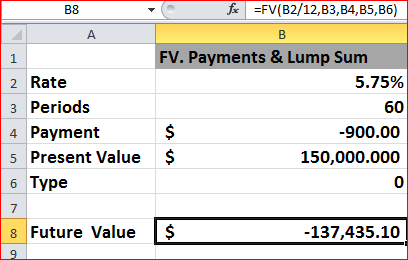 calculating mortgage payments excel